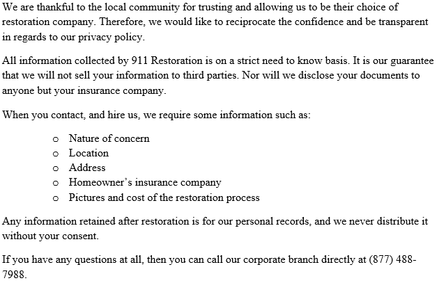911_Restoration_of_Los_Angeles_Privacy_Policy
