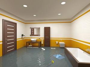 Avocado Heights flooding bathroom