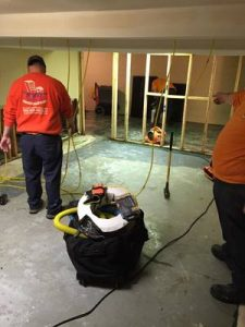 Repairing An Office Space After A Flood